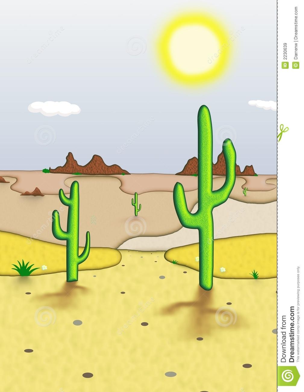 Desert Scenes Clipart.
