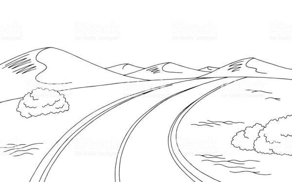 25+ Desert Landscape Clip Art Black Pictures and Ideas on Pro Landscape.