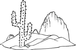 Desert clipart black and white 6 » Clipart Station.
