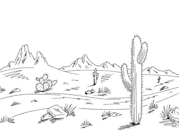 Best Black Desert Illustrations, Royalty.