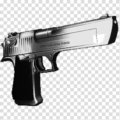 Desert Eagle Gold IMI Desert Eagle .50 Action Express Pistol.