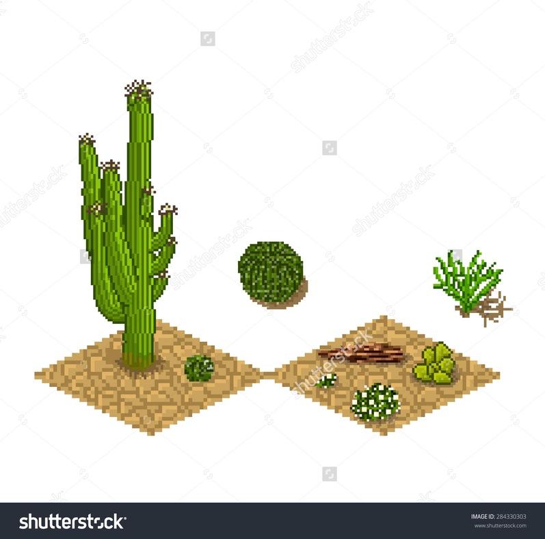 Green Grass Dry Desert Stock Vectors Vector Clip Art Shutterstock.