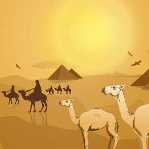 25+ Egyptian Black And White Clip Art Desert Landscape Pictures and.