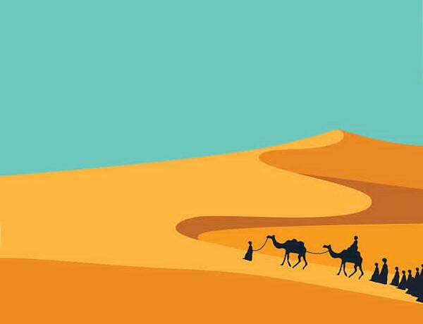 Desert clipart desert environment, Desert desert environment.