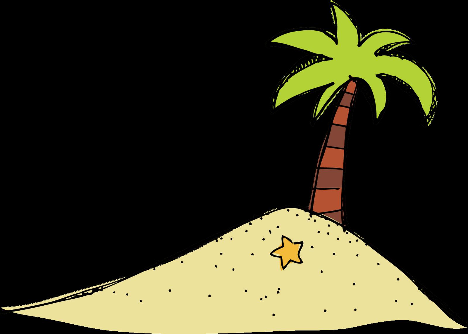 Island Setting Cliparts.