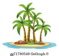 Desert Island Clip Art.