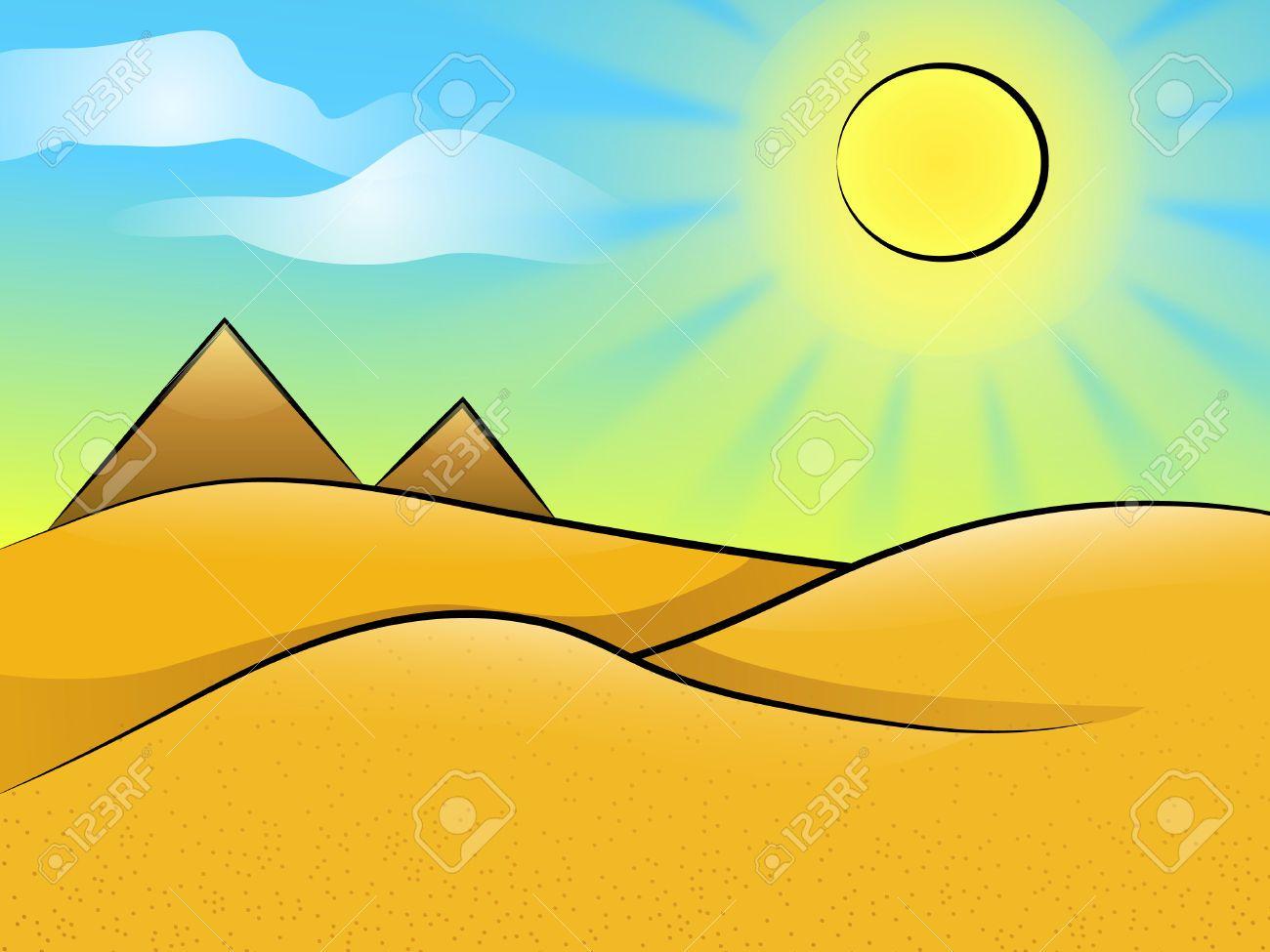 Desert landscape » Clipart Portal.