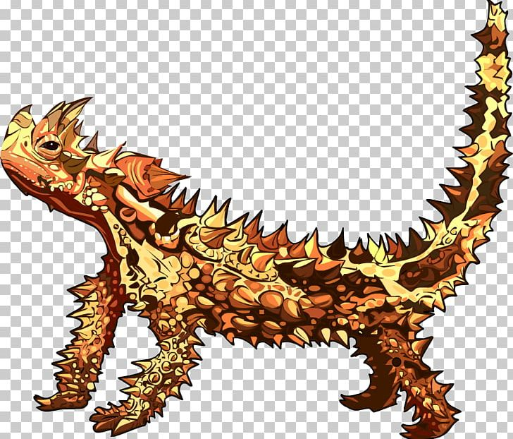 Desert Horned Lizard Reptile Thorny Devil PNG, Clipart, Animal.
