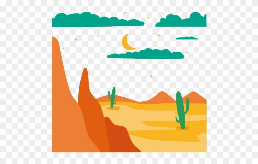 Desert Clipart Desert Mountain.
