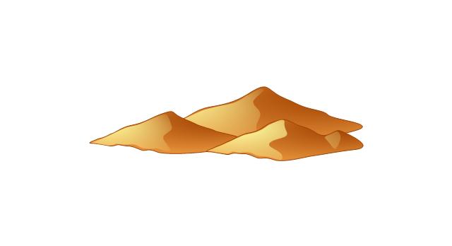 Desert mountain clip art clipart free download.