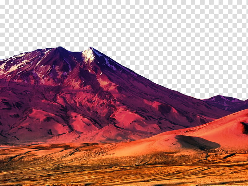 Mountains , desert and mountain illustration transparent.