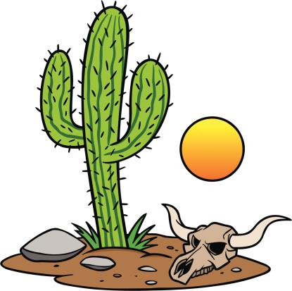 Clip Art Desert Animals.