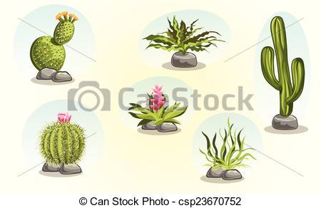 Desert plants Illustrations and Clipart. 4,811 Desert plants.