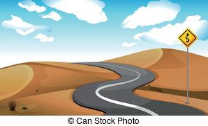 Desert road Clip Art Vector and Illustration. 709 Desert road.
