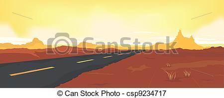 Desert road Illustrations and Clipart. 1,349 Desert road royalty.