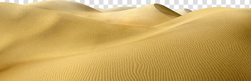 Material Sand Yellow, desert transparent background PNG.