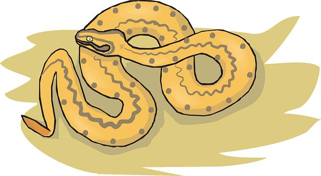 Free vector graphic: Snake, Sand, Desert, Reptile.