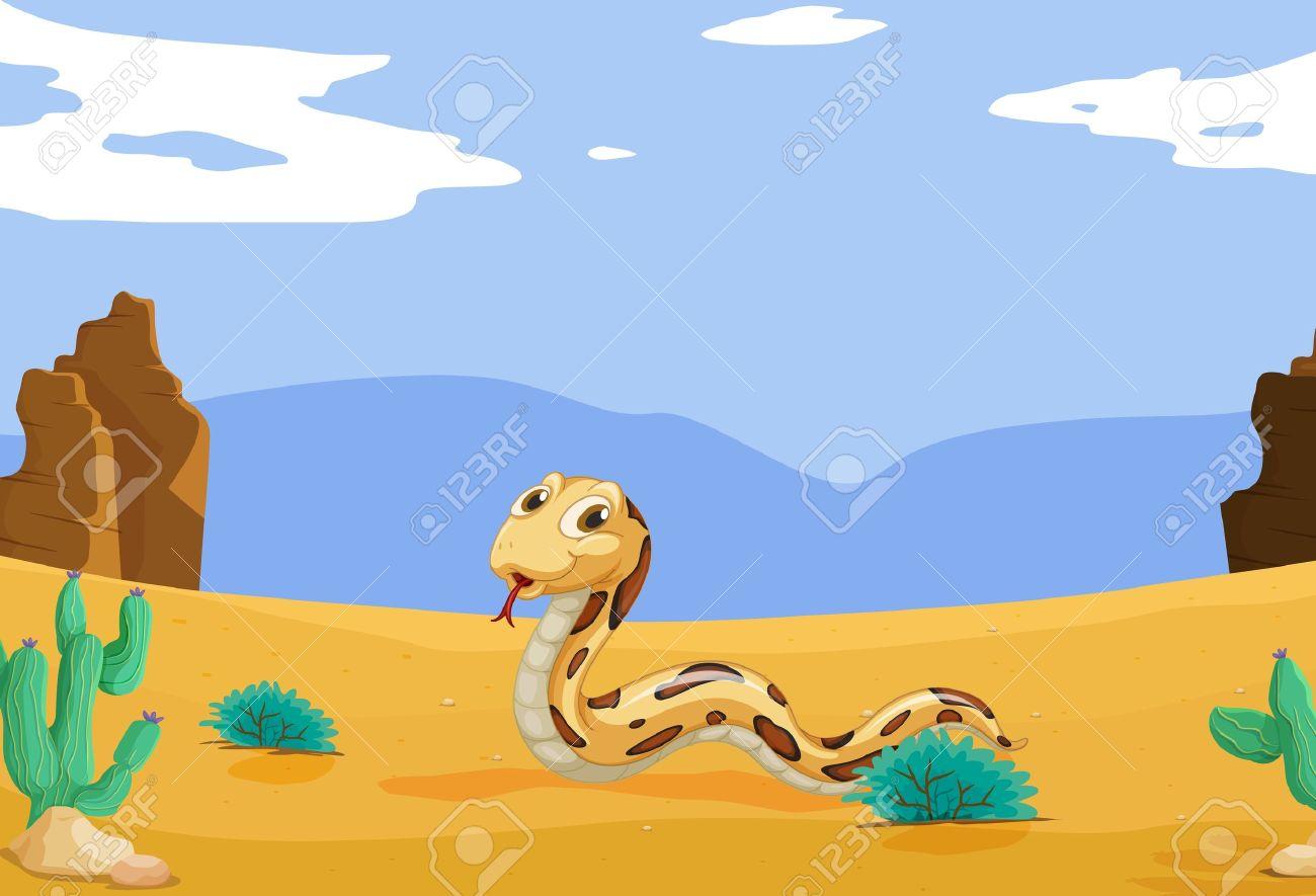 Desert Snake Clipart Clip art of Desert Clipart #5904 — Clipartwork.