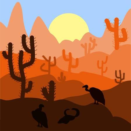 Desert sunrise clipart 4 » Clipart Station.