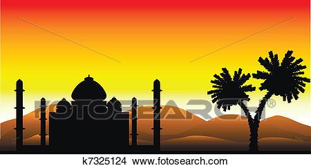 Desert sunrise clipart 2 » Clipart Station.