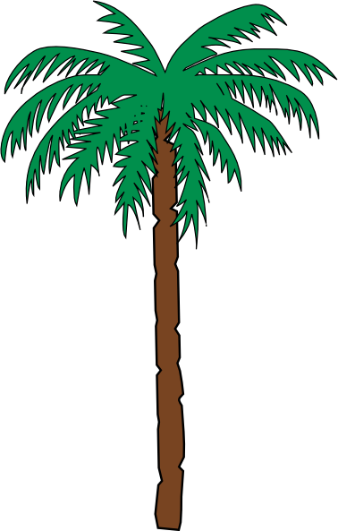 Clipart of desert tree.