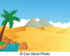 Sahara desert clipart.