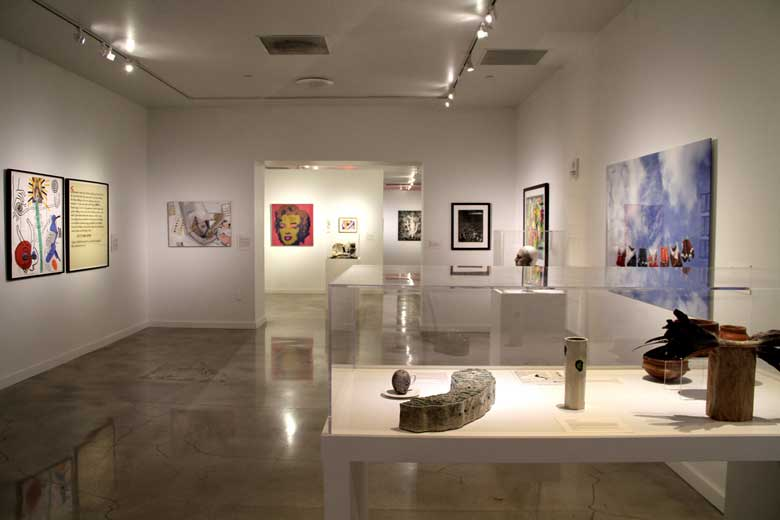 Exhibitions Page.