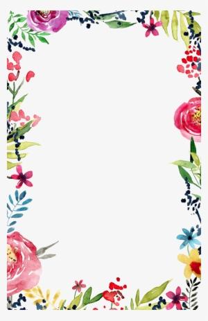 Flower Border PNG, Transparent Flower Border PNG Image Free Download.