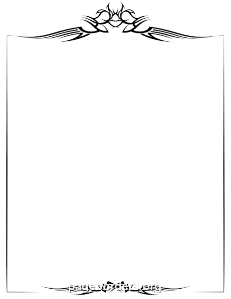 Free Page Borders and Frames.