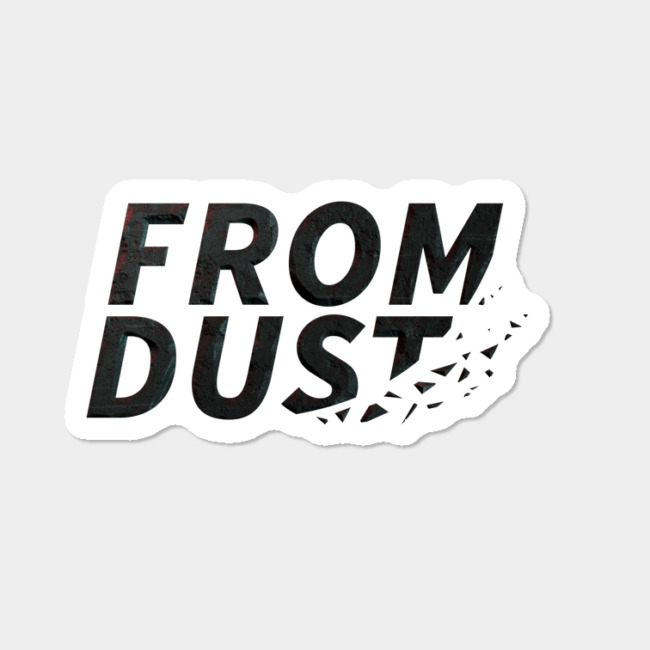 From Dust Logo Sticker By Anarisis Design By Humans.