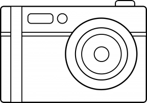 Camera Clipart Color.
