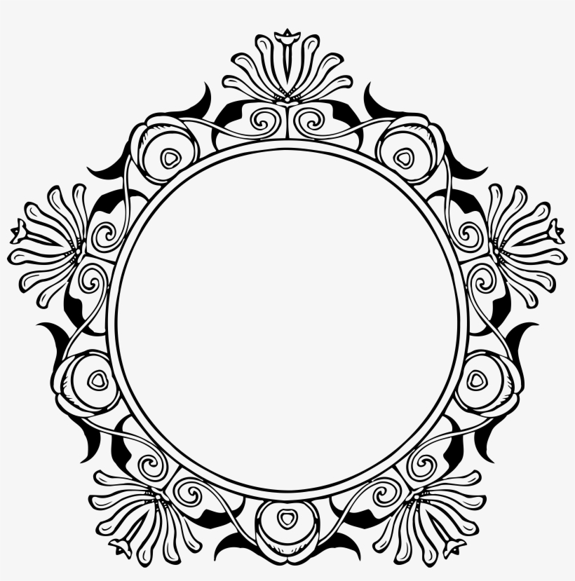 Photo Of Mirror Frame Vector File.