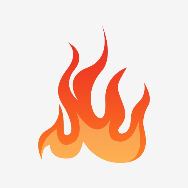 Fire Vector Design Clipart, Fire, Vector, Design PNG and Vector with.
