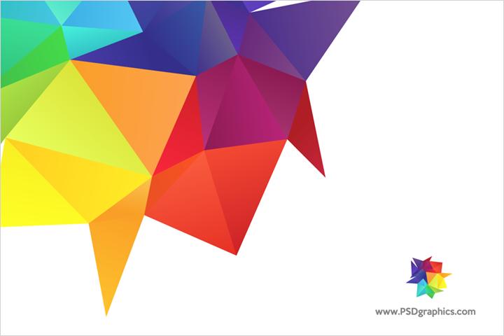 Rainbow colors design element vector.