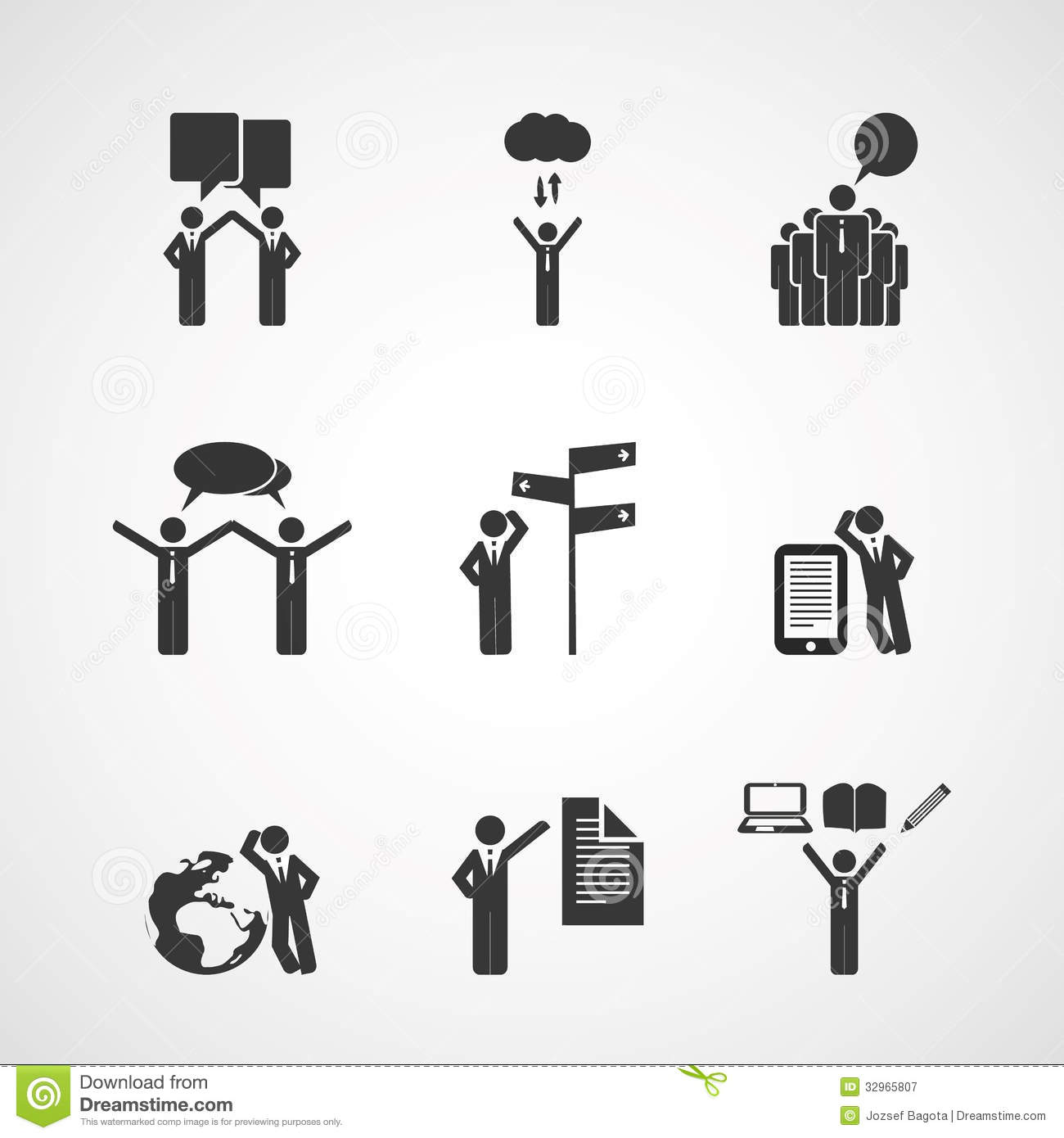 Figures, People's Icons.
