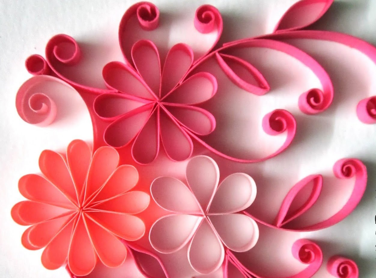 Tutorial # 28 Quilling Made Easy # How to make Beautiful Quilling.