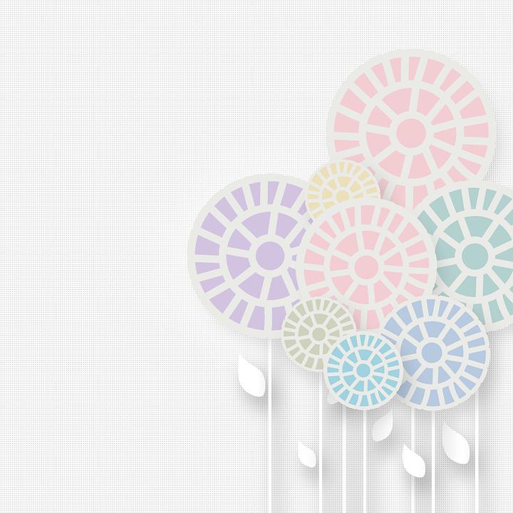 Flower Background Design.