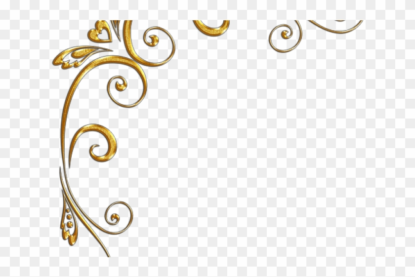 Golden Clipart Gold Corner.