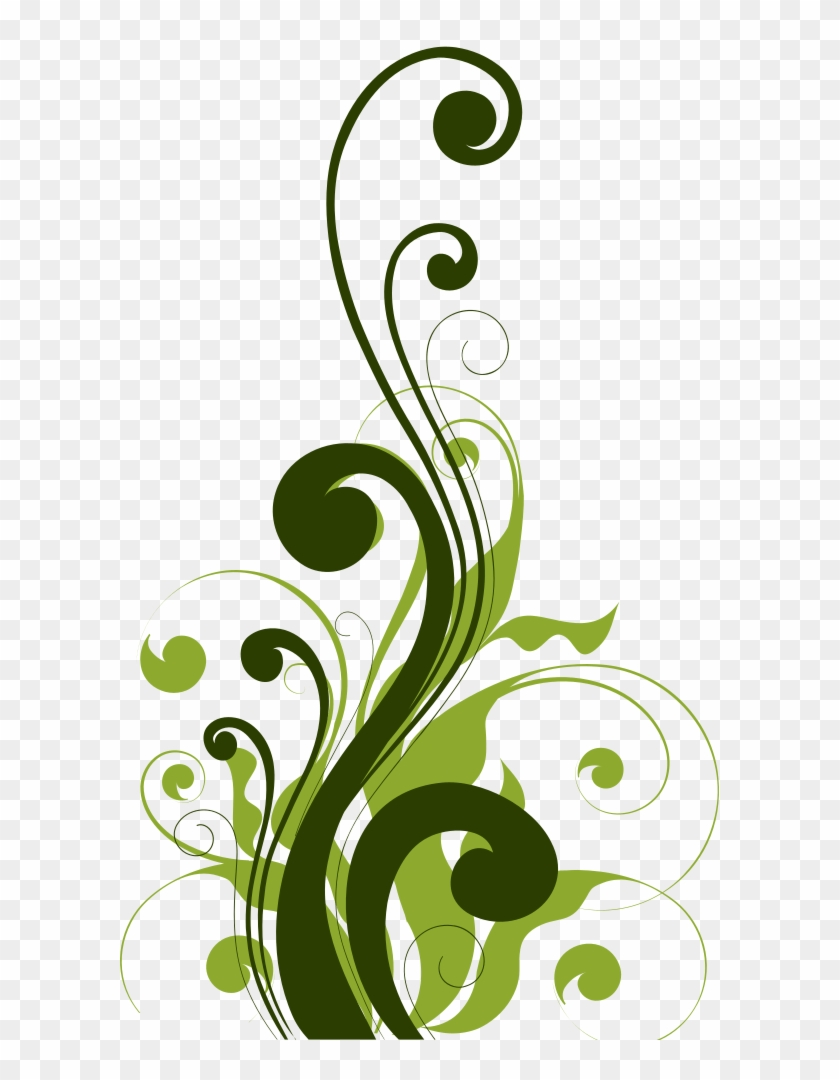 Simple Flourish Vector Free.