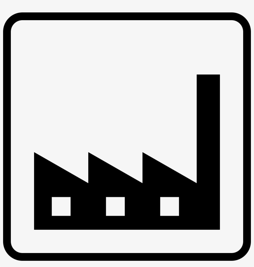 This Free Icons Png Design Of Factory Icon Transparent PNG.