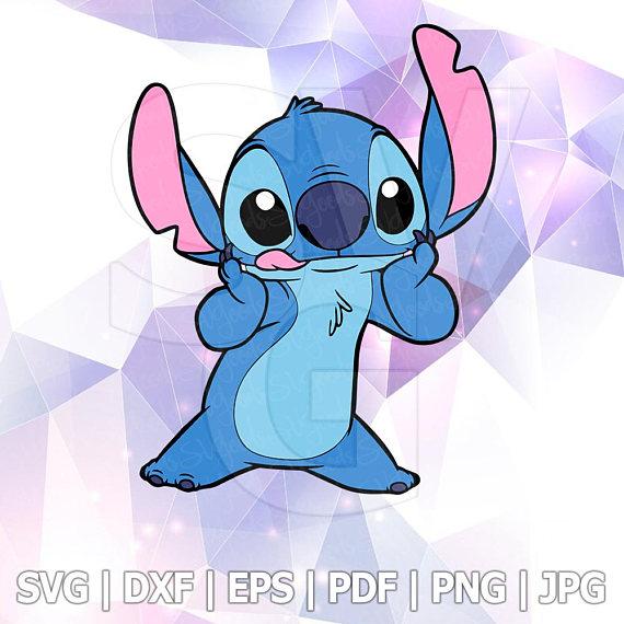 Lilo and Stitch SVG File Design DXF Pdf Vector Format Cricut Iron on.