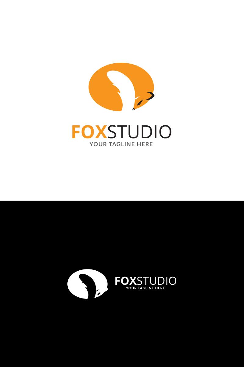 Fox Design Studio Logo Template.