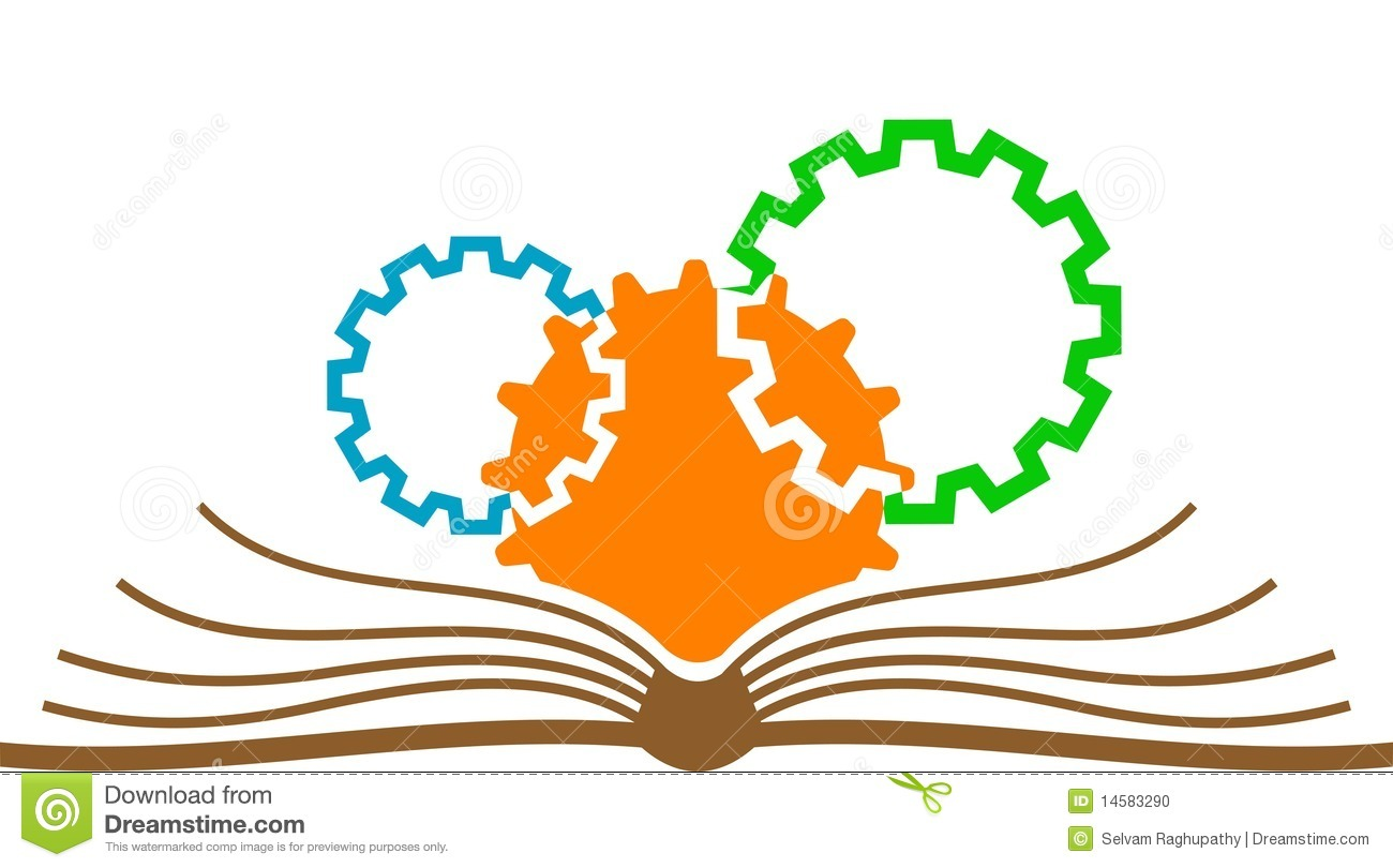 Industrial Study Logo Stock Photo.