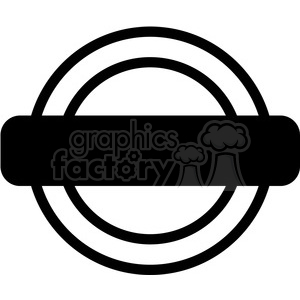 round logo reward design template vector art clipart. Royalty.