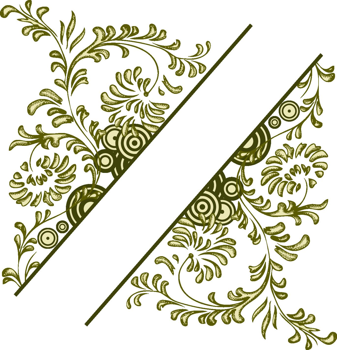 Download Flower Vintage Frame Illustration Vector Design Floral.