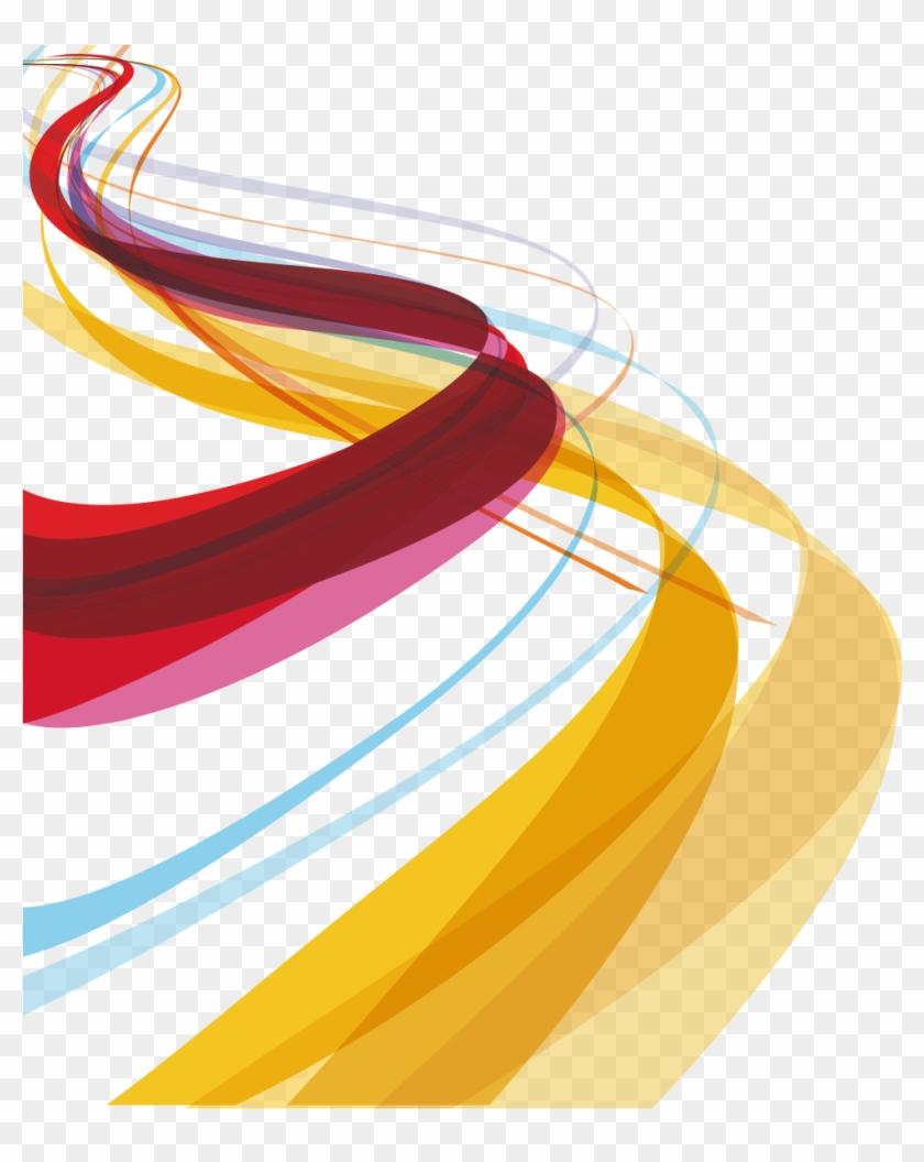 Vector Lines Design Png, Transparent Png.