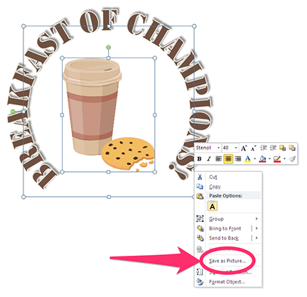 How to make your own PowerPoint clipart.