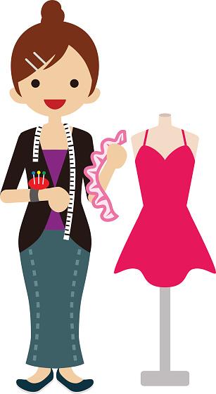 Fashion Designer Cliparts.