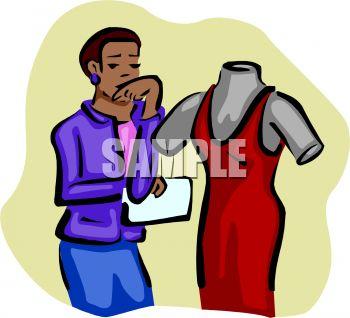 Fashion Designer Clipart.