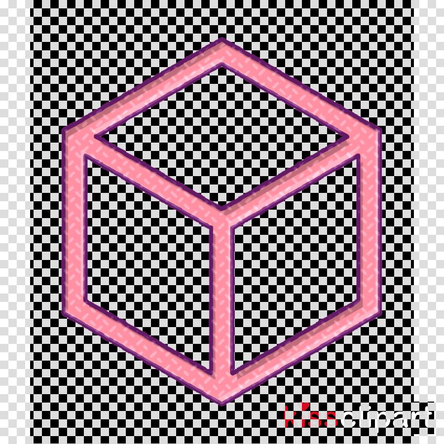 3d icon Graphic Designer icon Cube icon clipart.
